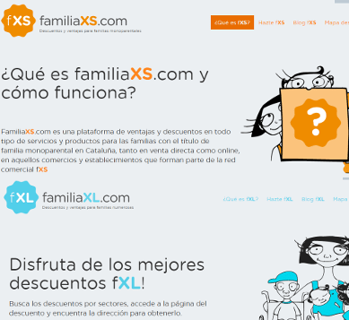 Marcaropa.com collaborates with FamiliaXS and FamiliaXL to help families with special conditions